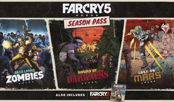 FAR CRY 5 SEASON PASS DLC