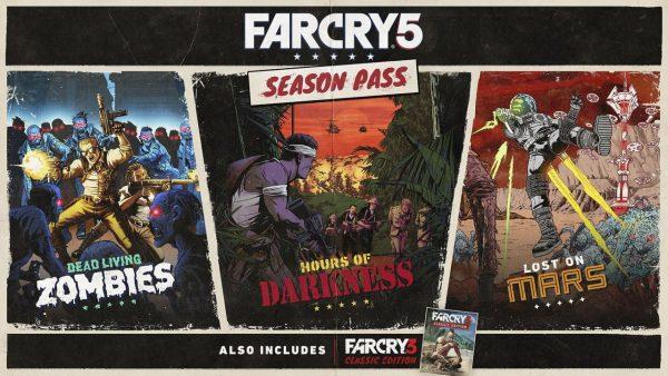 FAR CRY 5 SEASON PASS DLC