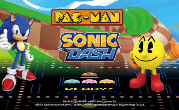 Pac-Man Sonic Crossover