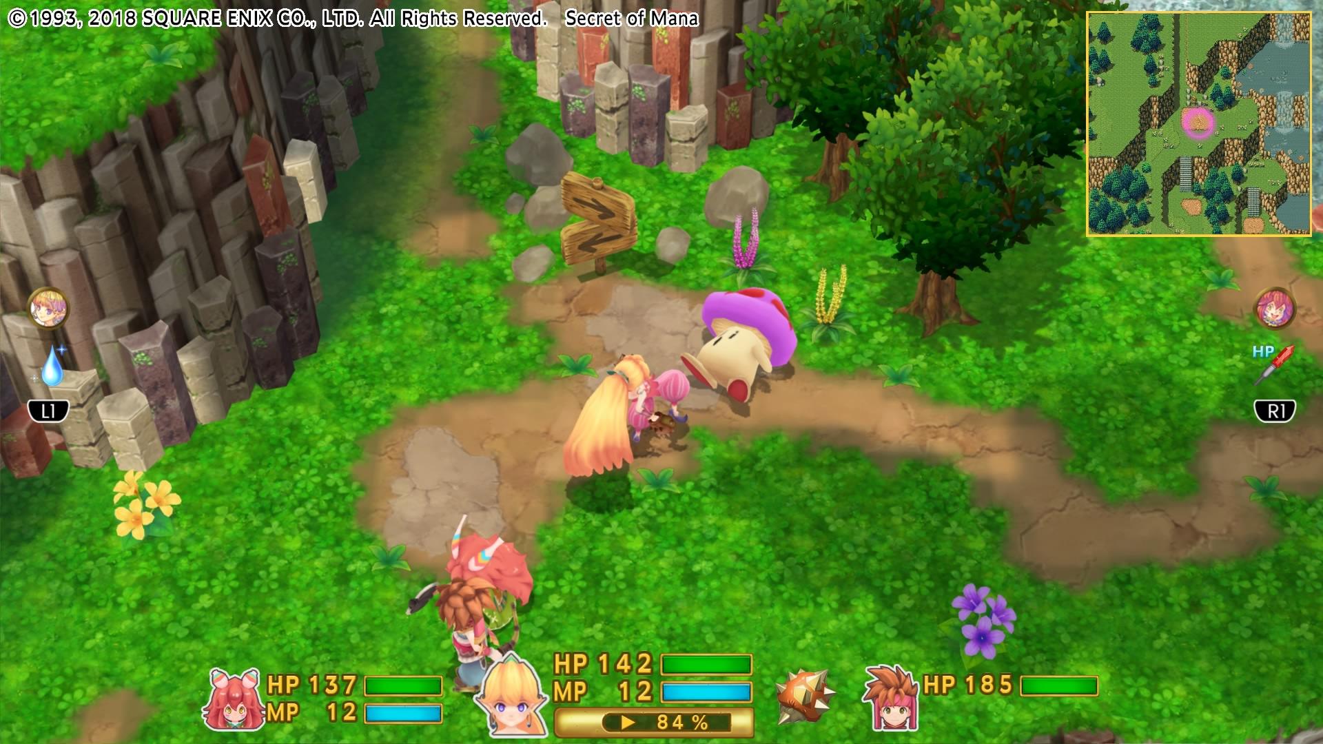 Secret of Mana's Faithful Return - GameSpace com