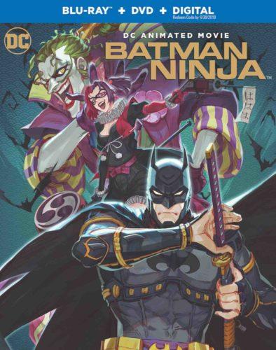 Batman Ninja Blu-Ray Cover