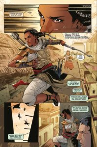 Assassin's Creed: Origin Comic Preview Page