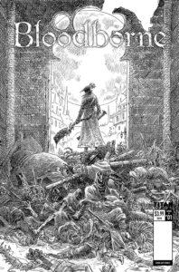 Bloodborne #1 Comic Book Reprint Cover