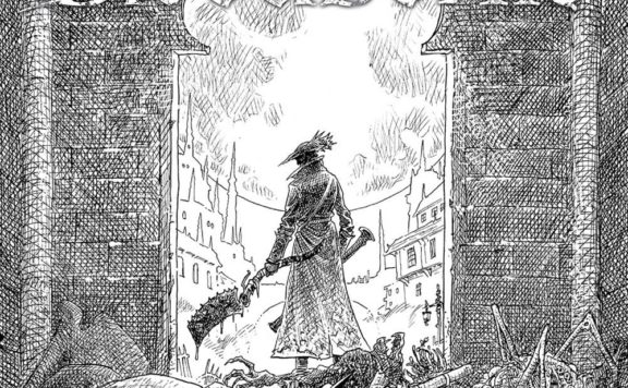 Bloodborne #1 Comic Book Reprint Cover Header