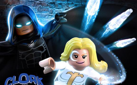 Lego Marvel Super Heroes 2 Cloak & Dagger DLC pack Artwork