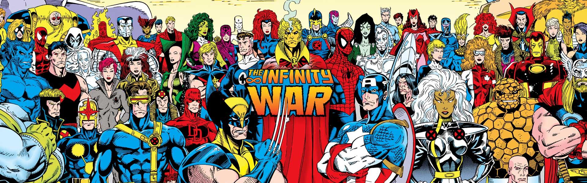 Infinity War Comic Book Release Date