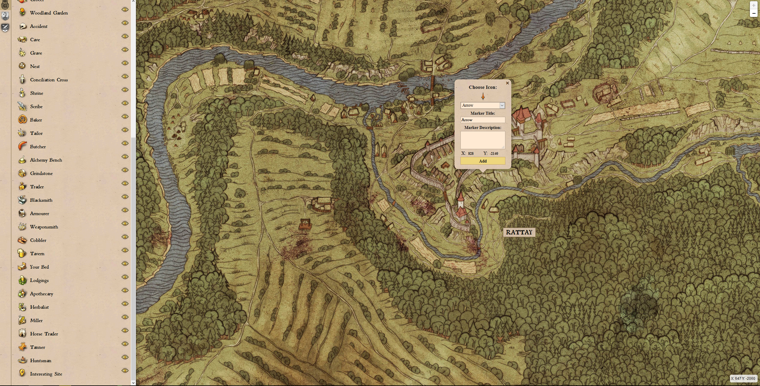 Kingdom come deliverance fan created interactive map gamespace to a fan of the game like me this can be an invaluable tool i often find places i cant access because i am too low in lockpicking or have too much gumiabroncs Gallery