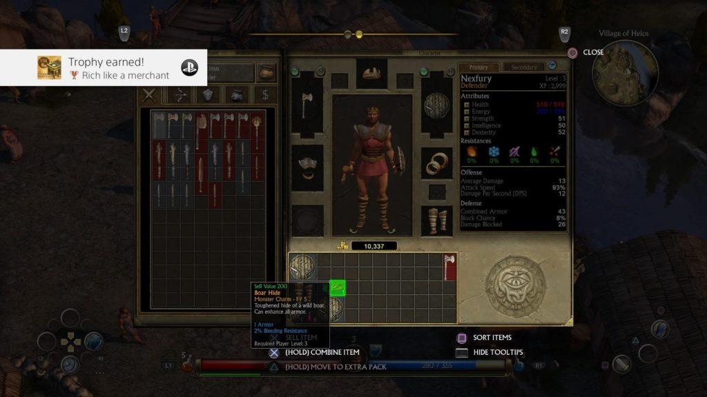 Titan Quest PS4 Review - GameSpace com