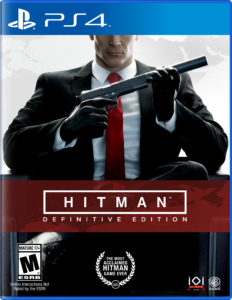 HITMAN: Definitive Edition PS4 Box Art
