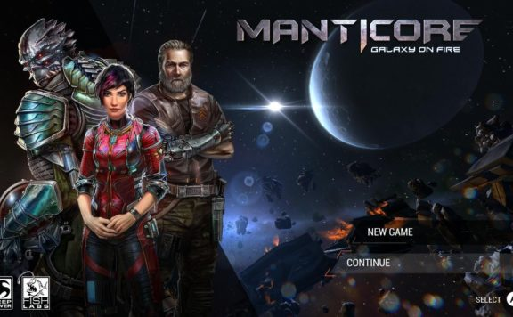 MANTICORE: GALAXY ON FIRE REVIEW