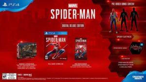 Spider-man PS$ Digital Deluxe