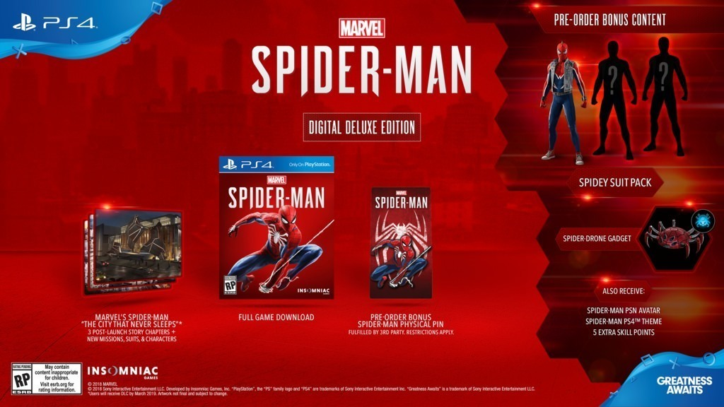 Spider-Man PS4 Has No Microtransactions And Is Locked At 30 FPS