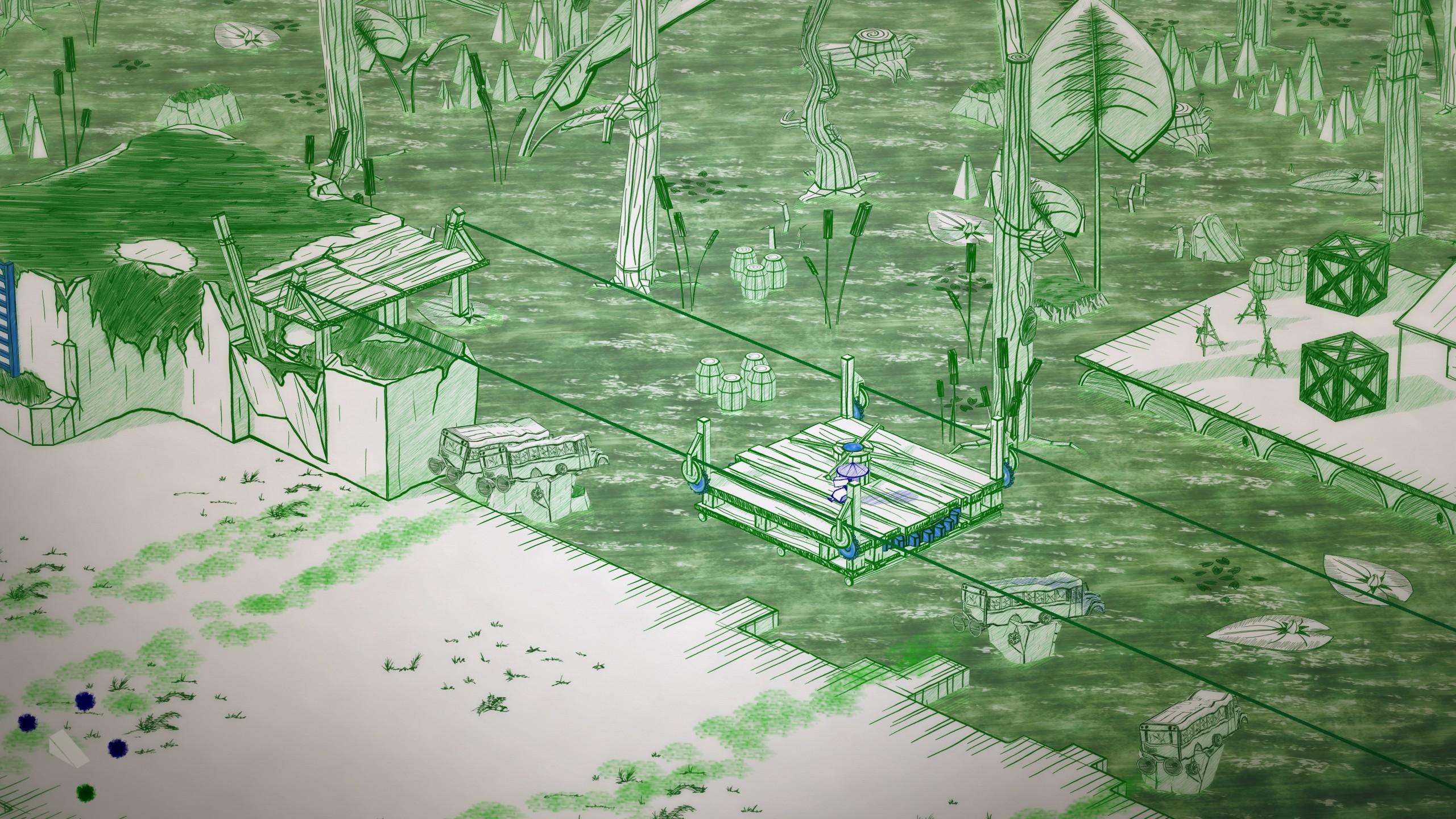 Inked - swamp