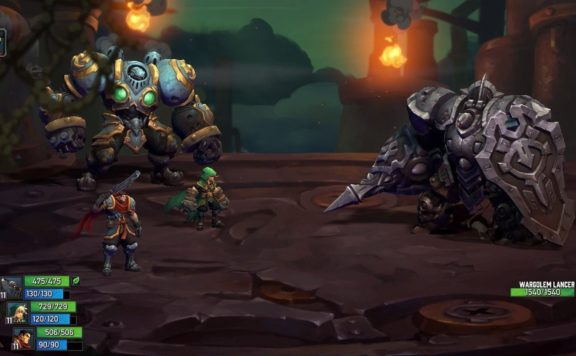BATTLE CHASERS SWITCH REVIEW