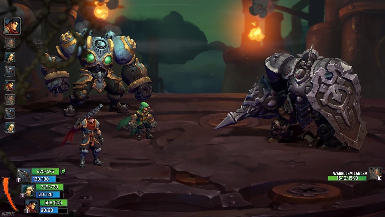 Battle Chasers: Nightwar Switch Review - GameSpace com