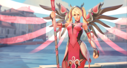 Overwatch – Pink Mercy Charity Skin Helps Raise Almost $10M