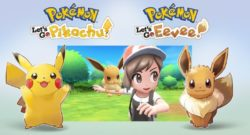 Nintendo Switch Pokemon Let's Go Pikachu & Let's Go Eevee