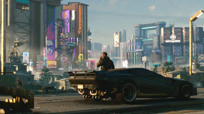 Cyberpunk 2077 Delayed - car artwork