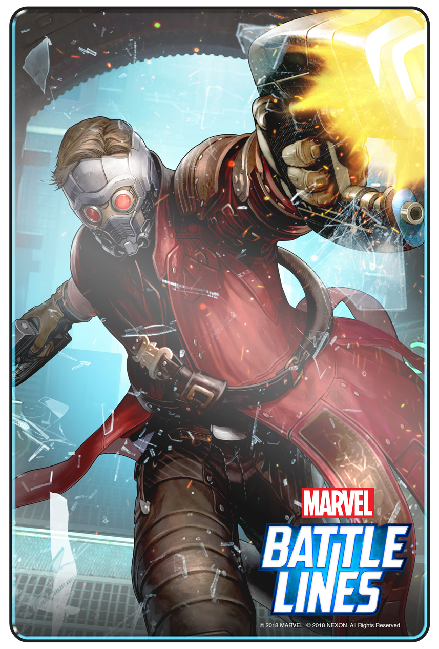 marvel battle lines starlord