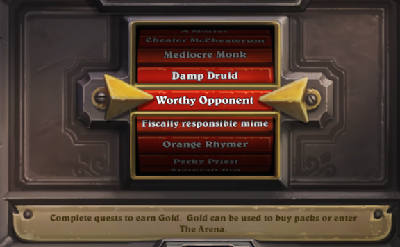 Matchmaking system