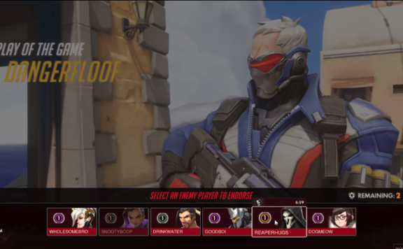 Overwatch Social Features Endorsements LFG