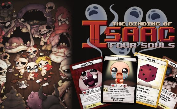 The Binding Of Isaac: Four Souls Card Game