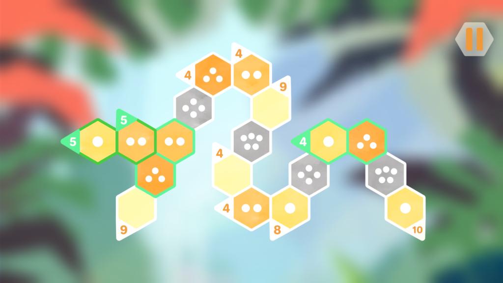 Hexologic Snake Puzzle