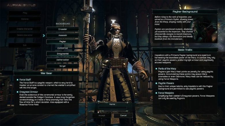Inquisitor Martyr Console Release date