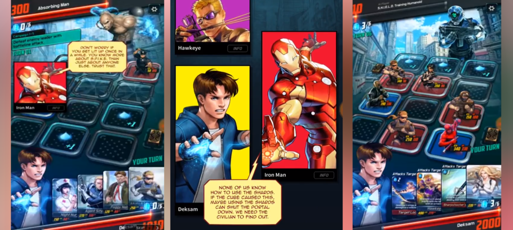 Marvel Battle Lines Preview