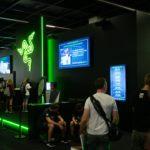 Razer booth at Gamescom 2018