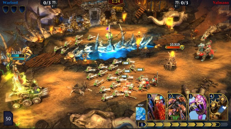 Warhammer Age of Sigmar: Realm War Goes Mobile in Fall 2018
