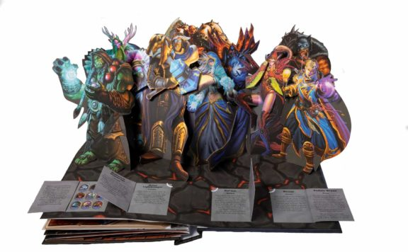 Hearthstone Pop-up book