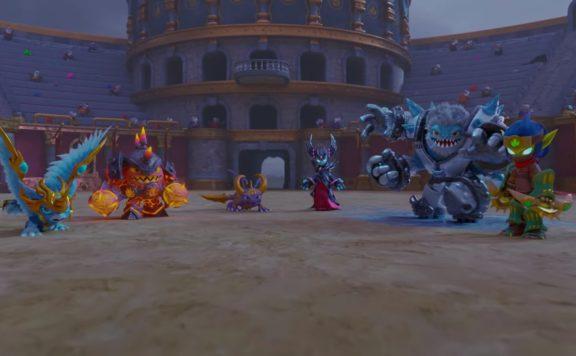 Skylander Ring of Heroes Arena