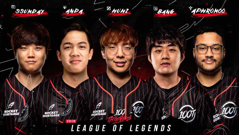 100T competes in Fortnite, Call of Duty and Clash Royale, but its flagship  team is the LoL franchise and now it has a truly formidable team to take it  ...