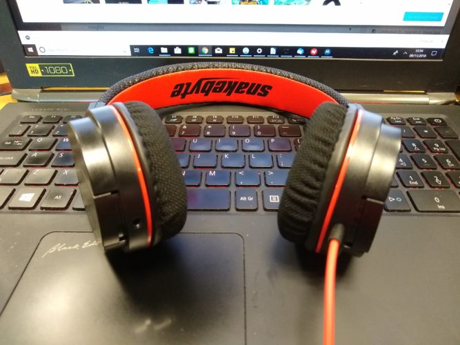 snakebyte headset s