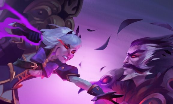 Orphea Heroes of the Storm comic HotS