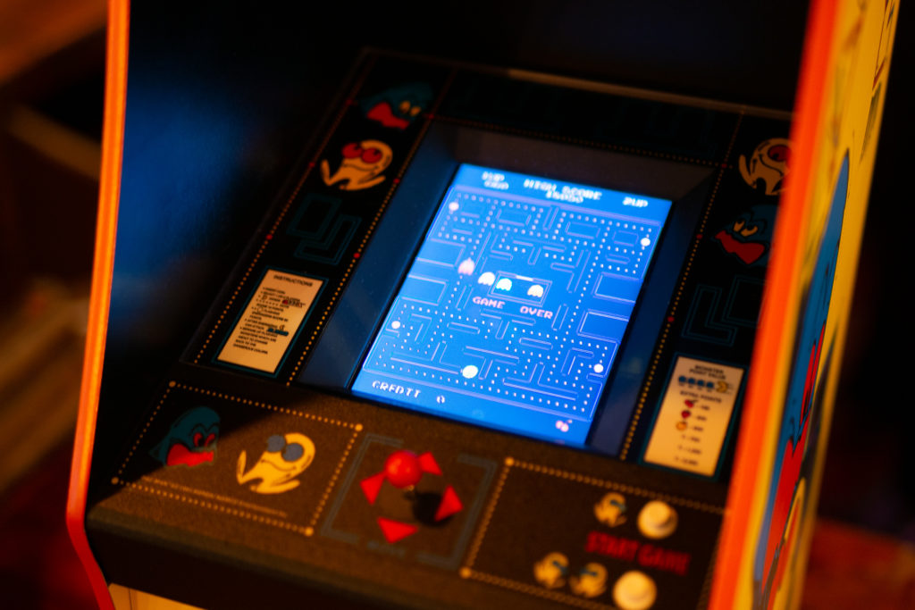 A closer look at the Pac-Man Screen