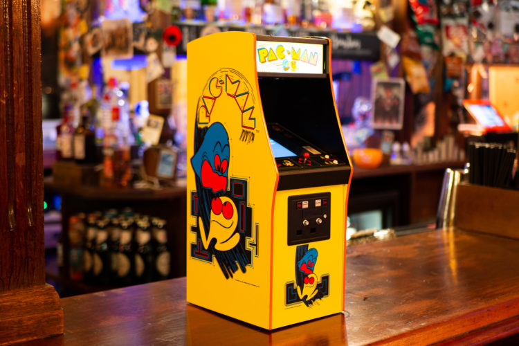 Quarter Arcades Pac-man Cabinet