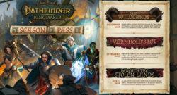 Pathfinder Kingmaker DLC Wildcards Varnhold's Lot Beneath the Stolen Lands Season Pass