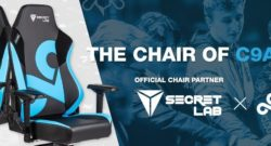 Secretlab and Cloud9 special edition chair