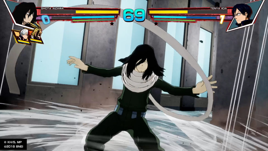 My Hero One's Justice Review Shoto Aizawa