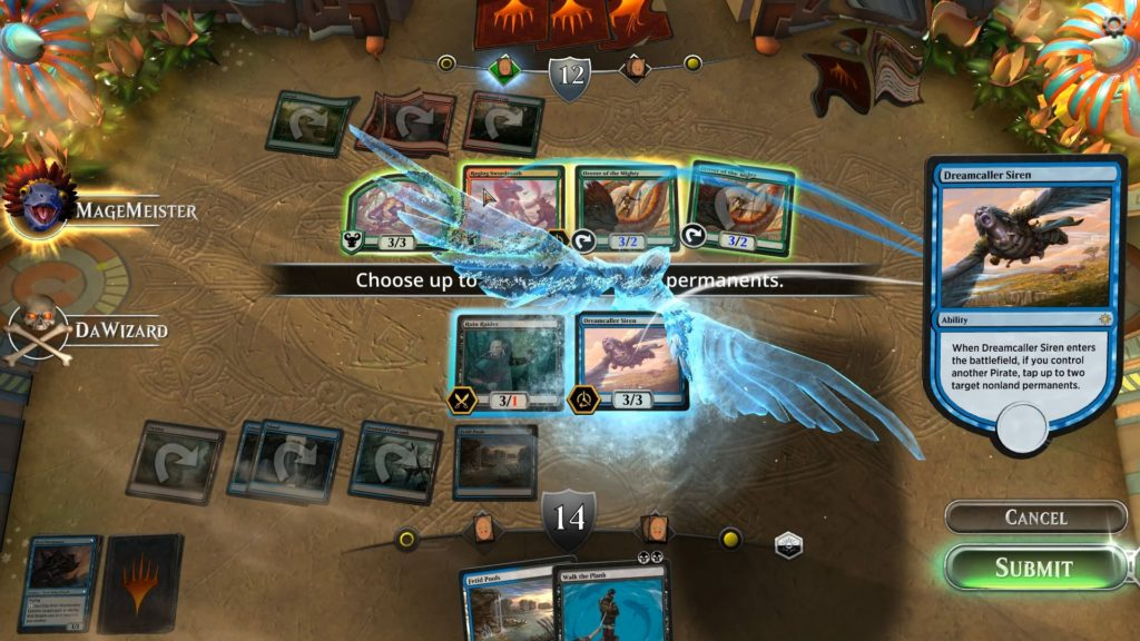 Magic the Gathering Arena digital card games