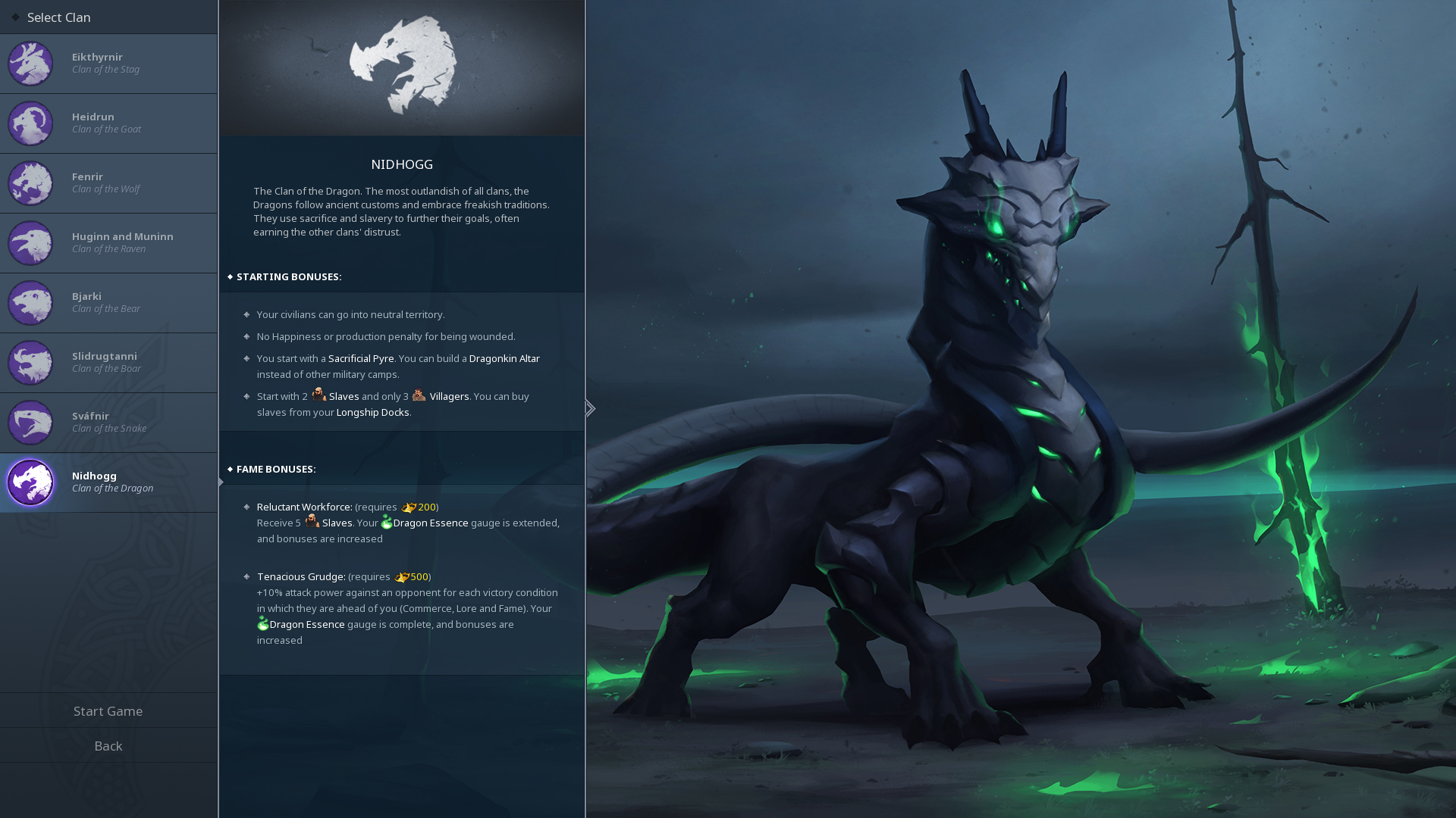 Northgard Releases Nidhogg: The Clan of the Dragon DLC