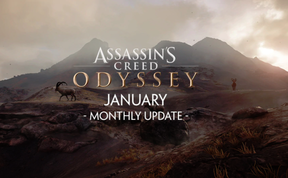 Assassin's Creed Odyssey January Monthly Update