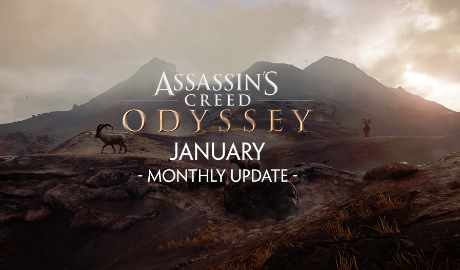 Assassin S Creed Odyssey January Monthly Update