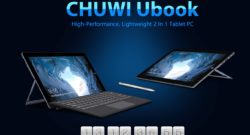 CHUWI Reveals the UBook – Powerful 2-in-1 Tablet PC
