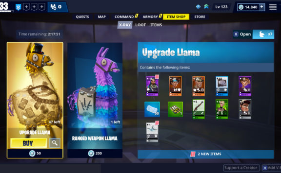 Fortnite - Loot Unboxing Changes