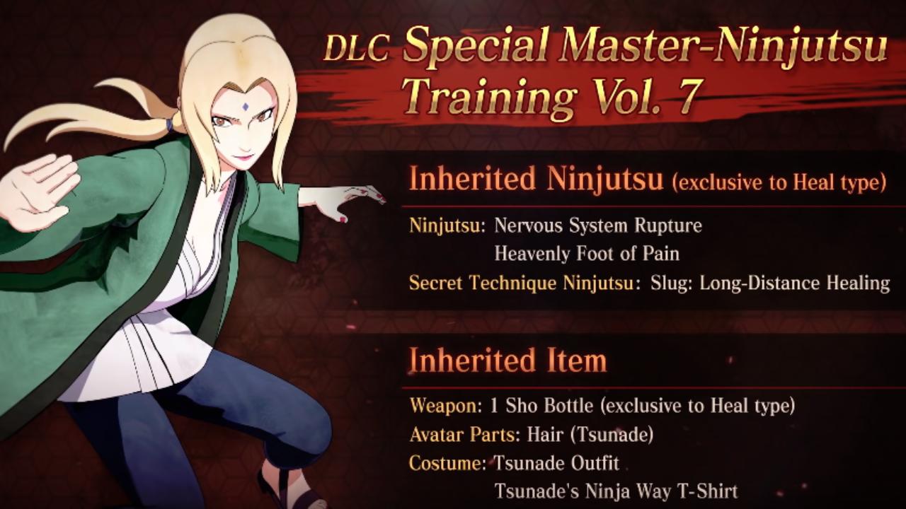 Naruto To Boruto Shinobi Striker Weapons