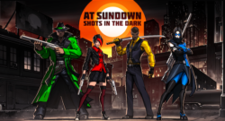 Stealth-Based Arena Shooter, At Sundown: Shots In The Dark Blasts its Way onto Nintendo Switch, PlayStation 4, Xbox One and Steam