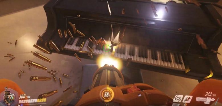 Overwatch - Paris Map Piano Meets MIDI Keyboard